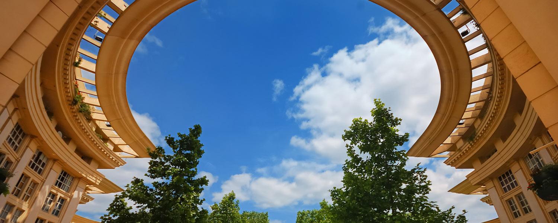 Montpellier - Vue sur ciel