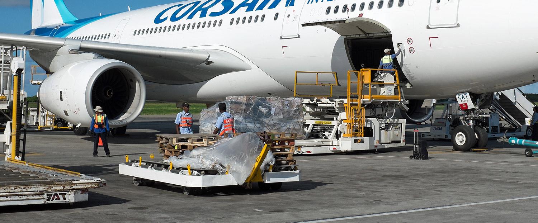 Corsair plane loading
