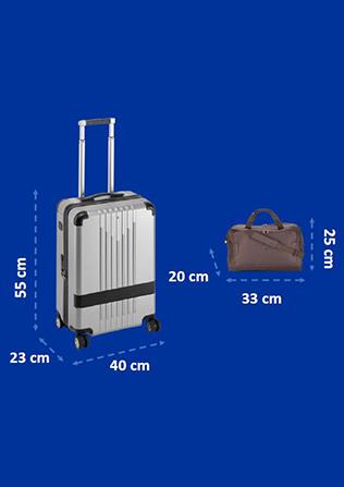 Dimensions de votre bagage